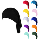 Opromo Women's Under Scarf Cap Bone Bonnet Hijab Islamic Head Cover Muslim Hat