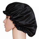 Opromo Natural Silk Sleep Night Cap Head Cover Bonnet Hat for Curly Springy Hair