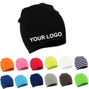 Custom Toddler Kids Infant Baby Boys & Girls Cotton Soft Beanies Cap