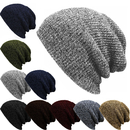 Opromo Daily Beanie Winter Slouchy Baggy Ski Hat Unisex Knit Skull Cap