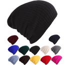 Opromo Unisex Slouchy Winter Hats Knitted Beanie Caps Soft Warm Baggy Ski Hat