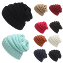 Opromo Oversized Baggy Thick Winter Beanie Hat Chunky Cable Warm Knit Beanie Cap