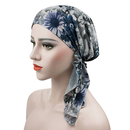 Opromo Womens Scarf Pre Tied Chemo Hat Beanie Turban Headwear for Cancer Patient