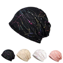 Opromo Women's Lightweight Lace Turban Slouchy Beanie Hat Cap for Cancer Patients