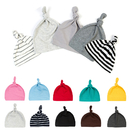 Opromo Unisex Newborns Toddler Infants Baby Soft Cotton Knot Hat Beanie Sleep Cap