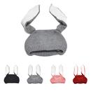 Opromo Baby Hats Bunny Ear Winter Crochet Earmuff Earcap Knit Toddler Beanie Hat