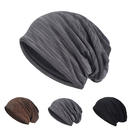 Opromo Womens Mens Unisex Slouch Hollow Beanie Thin Cotton Summer Cap Skullcap
