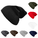Opromo Beanie Knit Hat Warm Daily Slouchy Skull Beanies Cap for Women & Men