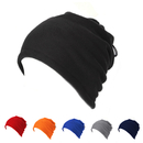 Opromo Double Layer Fleece Neck Warmers Snood Scarf Hat Balaclava Ski Face Mask