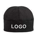 Custom Tactical Microfleece Beanie Soft Warm Winter Fleece Hat Skull Cap