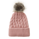 Opromo Baby Winter Warm Knit Hat Infant Toddler Kids Crochet Pompom Beanie Cap