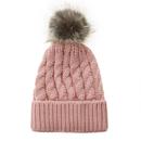 Opromo Baby Winter Warm Knit Hat Infant Toddler Kids Crochet Pompom Beanie Cap