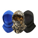 Opromo Thermal Fleece 6 in 1 Balaclava Hood Face Mask Neck Warmer Windproof Ski Cap