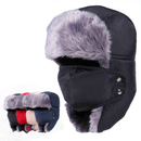 Opromo Trapper Hat Ushanka Russian Hunting Hat With Ear Flap Strap and Face Mask
