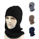 Opromo 3-in-1 Windproof Ski Face Mask Knit Winter Hats Warm Balaclava Beanie Hat