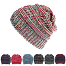 Opromo Kids Baby Toddler Slouchy Ribbed Knit Children's Winter Hat Beanie Cap