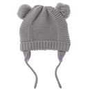 Opromo Infant Baby Beanie Earflaps Hat, Toddler Kids Soft Warm Knit Winter Hat with Fleece Lining