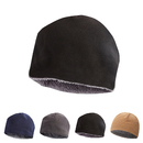 Opromo Men's Winter Beanie Hat Fleece Lining - Thick Windproof Fleece Skull Cap