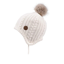 Opromo Toddler Baby Boys Girls Fleece Lined Knit Kids Hat with Earflap Winter Hat