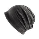 Opromo Women Girls Velvet Slouchy Beanie Hat Fashion Winter Warm Stretch Skull Cap