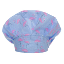 Opromo Adjustable Bouffant Scrub Hat Bouffant Animal Print Scrub Cap with Sweatband