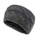 Opromo Winter Warm Fuzzy Fleece Lined Stretch Cable Knit Headband Ear Warmer Head Wrap - 12 Colors