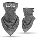 Custom Unisex Outdoors Mesh Cooling Face Cover with Ear Loops,Cycling Hiking Motorcycle Bandana Balaclava Scarf Neck Gaiter