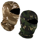 Opromo Stylish Camouflage Balaclava Full Face Mask Windproof  Motorcycle Helmet Liner