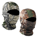 Opromo Leaves Branches Camouflage Camo Balaclava Full Face Mask Cycling Motorcycle Helmet Liner Face Cover