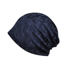 Opromo Women's Slouchy Lace Beanie Jacquard Cotton Turban Hat Chemo Skull Cap for Cancer Patients