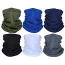 Opromo Outdoor Cycling Motorcycle Face Cover Balaclava Tube Hat,Breathable Mesh Neck Gaiter Multifunctional Headgear