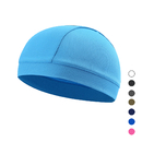Opromo Sweat Wicking Helmet Liner Cooling Skull Caps for Men,Stretch Mesh Sweat Beanie