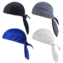 Opromo Do Rag Cooling Cycling Skull Cap Headwrap Helmet Liner Pirate Beanie Hat