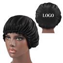 Custom Silcky Bonnet Cap Head Cover Sleep Cap for Natural Curly Hair