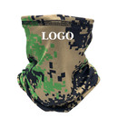 Custom Camo Face Covering Neck Gaiter,Sun Protection Breathable Cooling Face Gaiter Cycling Motorcycle Mask for Men Women