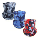 Opromo Breathable Cooling Camo Face Cover Neck Gaiter,Cycling Motorcycle Balaclava Mask Scarf
