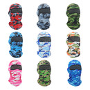 Opromo Outdoor Cooling Camo Balaclava UV Protection Full Face Mask for Men Women Sun Hood for Cycling Motorcycle Riding