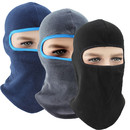 Opromo Thermal Fleece Balaclava Winter Warm Ski Face Mask Wind-Resistant Hood Cap Motorcycle Cycling Helmet Liner Skull Cap