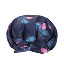 TOPTIE Luxury Shower Cap For Women Waterproof Reusable Breathable Soft Shower Caps with Adjustable Bow Knot,Machine Washable