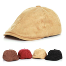 Opromo Fashion Boy's Newsboy Caps Child Faux Suede Cabbie Beret Cap Kids Ivy Hat