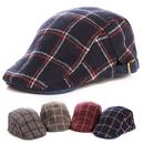Opromo Kids Ivy Newsboy Cap Tarton Woolen Flat Cap Cabbie Hat Duck Bill Irish Cap
