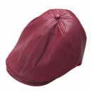 Opromo PU Leather Newsboy Cap for Kids Flat Cap Cabby Hat Driving Cap Gatsby Hats