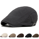 Opromo Men's Cotton Flat Ivy Gatsby Newsboy Driving Hat Cabbie Cap
