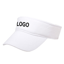 Custom Kids Athletic Visor Cap Children Sport Tennis Cotton Sun Hat