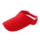 Opromo Cotton Sports Visors, Golf Sun Visor Hats, Adjustable