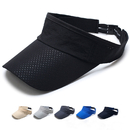 Opromo Men's Quick Dry Sport Sun Visor Athletic Mesh Visor Cap with Adjustable Strap