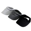 Opromo Elastic Sun Visors Hat for Women Men for Outdoor Sports Jogging Running Tennis