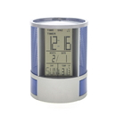 Blank Desk Caddy Digital Clock