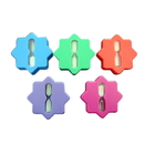 Blank Plastic Waterproof Shower Sand Timers, 1 Minute to 5 Minutes Available, 3 1/4