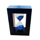 Blank 3 Minute Wood Frame Sandglass, 2